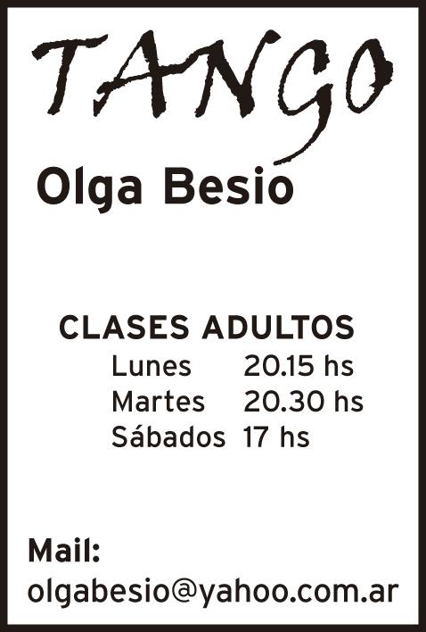 Olga Besio – Tango
