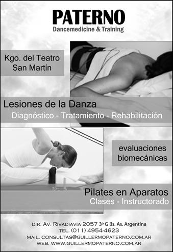 Paterno Medicina de la danza y Pilates