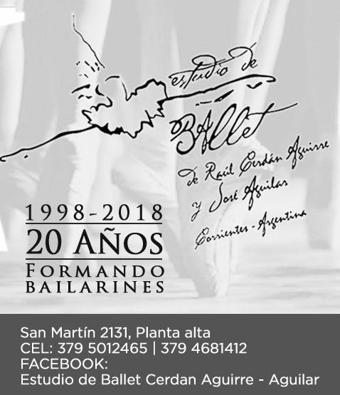 Estudio de Ballet Raúl Cerdán Aguirre y José Aguilar