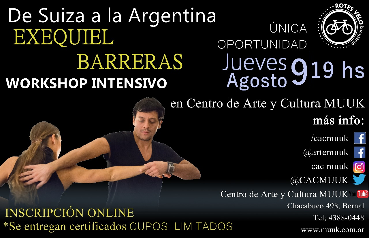 Workshop con Exequiel Barreras