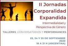 """II Jornadas de Corporalidad Expandida """"Intermermedialidad y perspectiva de Género"""""""